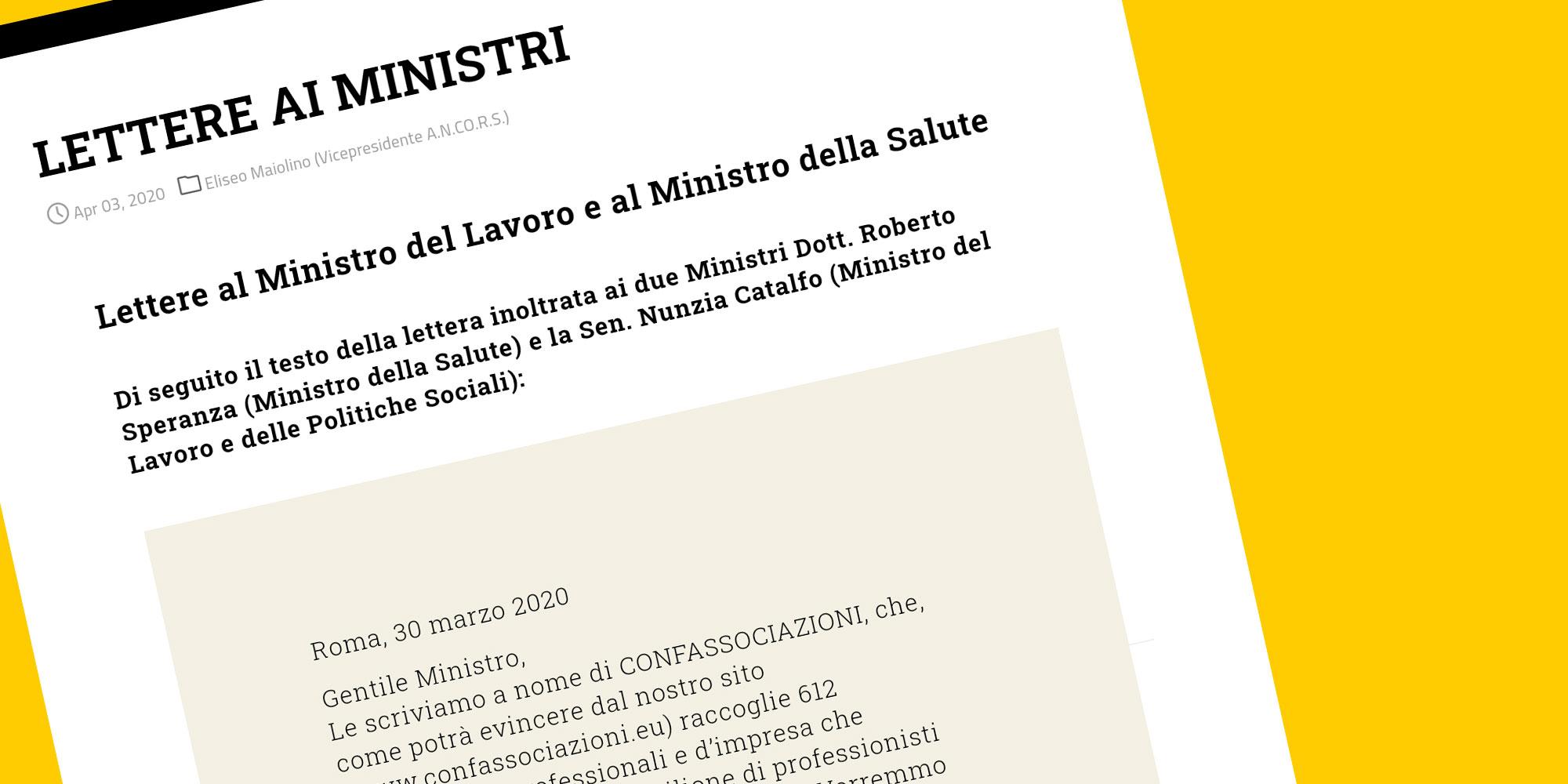Lettere ai Ministri